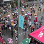 Rain Can't Stop Salsa on St.Clair!