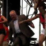 Mayor Rob Ford Dancing at Salsa on St. Clair 2014!
