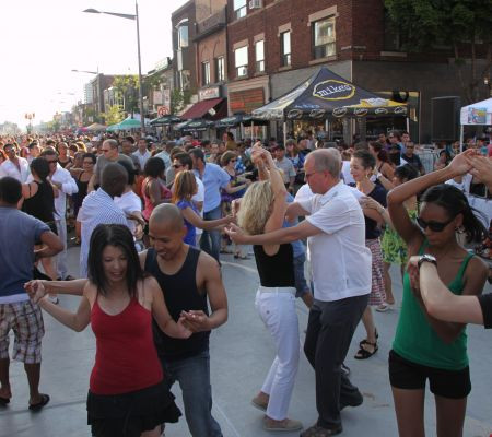 Salsa on St. Clair Fun