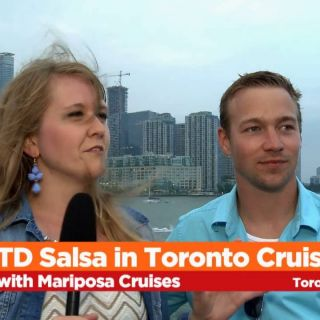 TD Salsa in Toronto Cruise Night with Mariposa Cruises - July 8th 2016