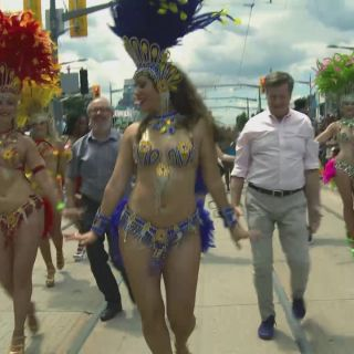 Toronto's Coolest Mayor at TD Salsa on St. Clair
